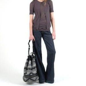 Earnest Sewn | Barney's NWT Gemma wide leg jeans